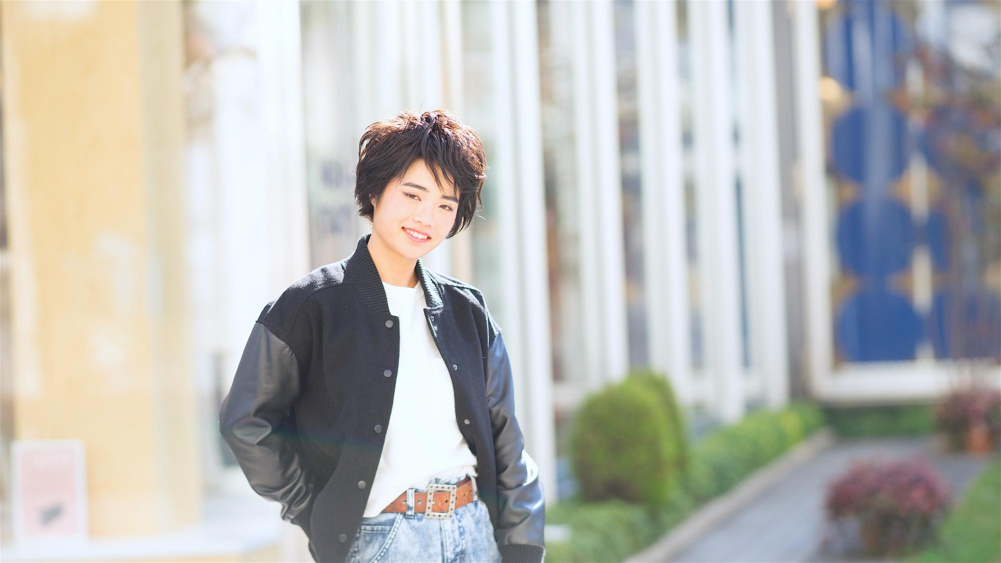 ヘアスタイルモデルharuko