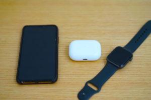 『AirPods Pro本体』『iPhone』『Apple Watch』でのノイズキャンセリングの設定の仕方