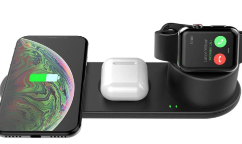iPhone Apple Watch AirPodsProワイヤレス充電器