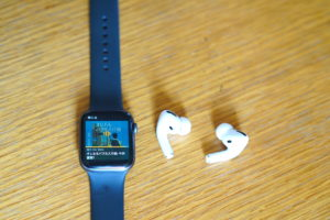 Apple WatchとAirPodsPro