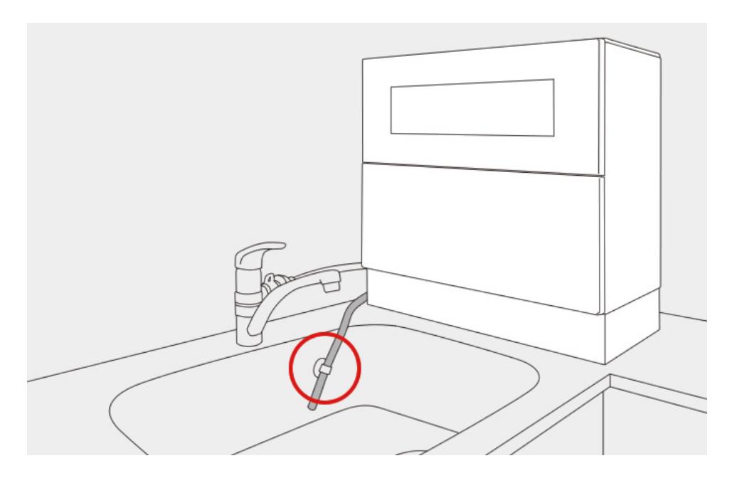食洗機の設置方法